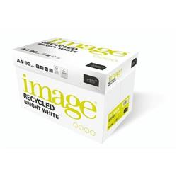 Image Recycled Bright White 100% Recycled A4 210X297mm 90Gm2 Ref 58952 [Pack 2500]