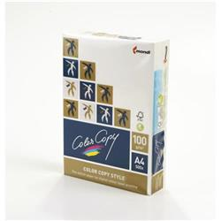 Color Copy Paper White Style FSC4 A4 210x297mm 100gm Ref 24896 [Pack 500]