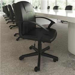 Bella Executive Manager's Chair Black Leather Ref EX000192