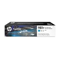 HP No. 981Y Inkjet Cartridge XHY Cyan Ref L0R13A