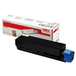 OKI Laser Toner Cartridge High Yield Page Life 10000pp Black Ref 44917602