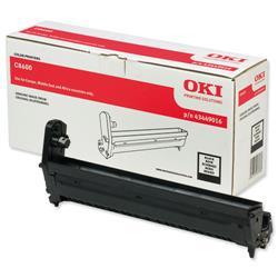 OKI Black Image Drum Unit for C8600/C8800 Ref 43449016