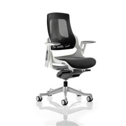 Zure Executive Chair Charcoal Mesh With Arms Ref EX000111