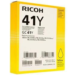 Ricoh Inkjet Cartridge Page Life 2200pp Yellow Ref RIC405764