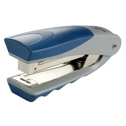 Rexel Centor Half Strip Vertical Stand-Up Stapler Silver and Blue Ref 2100596