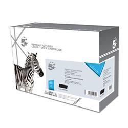 5 Star Office Remanufactured Laser Toner Cartridge 1600pp Black [HP 85A CE285AD Alternative] [Pack 2]