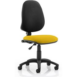 Eclipse I Task Operator Chair Sunset Colour Without Arms Ref KCUP0213