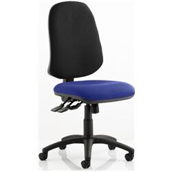 Eclipse XL Task Operator Chair Kingfisher Colour Seat With Arms Ref KCUP0255