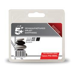 5 Star Office Remanufactured Inkjet Cartridge [Canon PGI-550 XL Alternative] Black