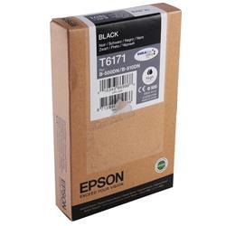 Epson T6171 Inkjet Cartridge High Yield 100ml 4000pp Black Ref C13T617100