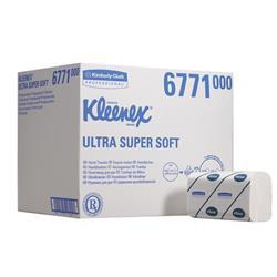 Asciugamani 3 veli Super Soft Kleenex - 31,8x21,5 cm - piegati a M - conf. 30