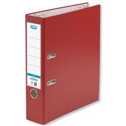Elba Lever Arch File Polypropylene 70mm Spine A4 Red Ref 100202172 [Pack 10]