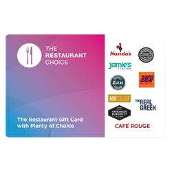 Restaurant Choice £10 Voucher