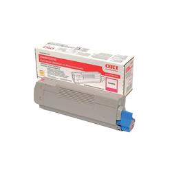 OKI 43381906 (Yield: 2,000 Pages) Magenta Toner Cartridge