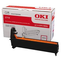 OKI Magenta (Yield 15,000 Pages) Image Drum for C710 A4 Colour Printers