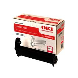 OKI Magenta Image Drum for C5800/C5900 Colour Printers (Yield 20,000 Pages)