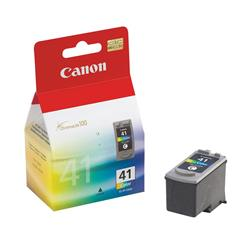 Canon CL-41 (Yield: 312 Pages) Cyan/Magenta/Yellow Ink Cartridge