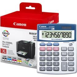 Canon PGI-2500XL (Colour - BK/C/M/Y) Ink Cartridge + Calculator