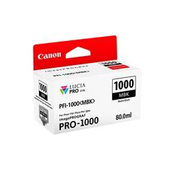 Canon PFI-1000MBK (Matte Black) Ink Cartridge (80ml)