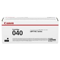 Canon 040 Black (Standard Yield 6,300 Pages) Toner Cartridge