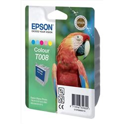 Epson T008 5 Colour Ink Cartridge (Cyan/Light CyanMagenta /Light Magenta/Yellow/Black) for  Stylus Photo 790/870/890/875DC/895/915 Printers