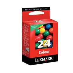 Lexmark No 24 Colour Return Program Inkjet Cartridge