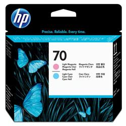 HP 70 Light Cyan and Light Magenta Printhead