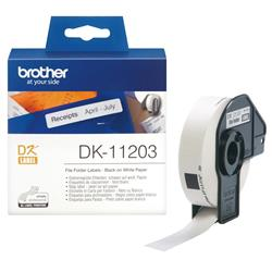 Brother P-touch DK-11203 (17mm x 87mm) File Folder Labels (300 Labels)