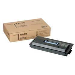 Kyocera TK-70 Black Toner Cartridge for FS-9100/FS-9500 Printers (High Capacity Yield 40,000 Pages)