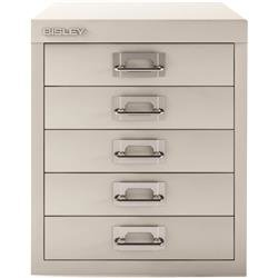 Bisley SoHo Multidrawers 5-drawer 51mm Drawer Height Chalk White