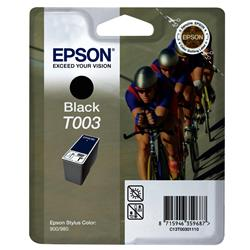 Epson T003 Black Ink Cartridge for Stylus Colour 900/980 Printers