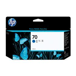 HP 70 Blue Colour Ink Cartridge (130ml) with Vivera Ink