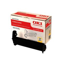 OKI Yellow Image Drum for C5800/C5900 Colour Printers (Yield 20,000 Pages)
