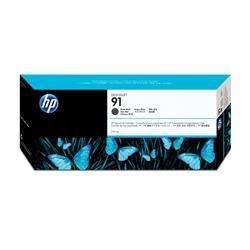 HP 91 Ink Cartridge (775 ml) with Vivera Ink (Matte Black)
