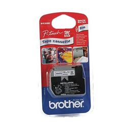 Brother P-touch M-K233BZ (12mm x 8m) Blue On White Non Laminated Labelling Tape