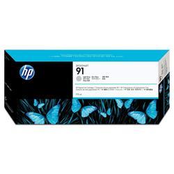 HP 91 Ink Cartridge (775 ml) with Vivera Ink (Light Grey)