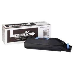Kyocera TK-855K Black Toner Cartridge for TaskAlfa 400ci/500ci Colour Printers (Yield 25,000 Pages)