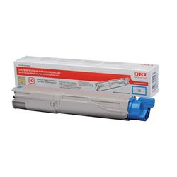 OKI 43459371 (Yield: 2,500 Pages) Cyan Toner Cartridge