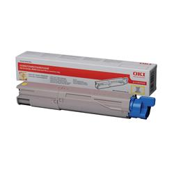 OKI 43459433 (Yield: 1,500 Pages) Yellow Toner Cartridge