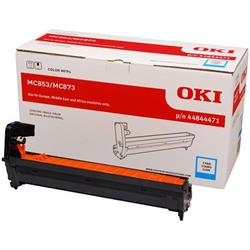 OKI Cyan Image Drum (Yield 30,000 Pages) for ES8453/ES8473 Multi Function Printers