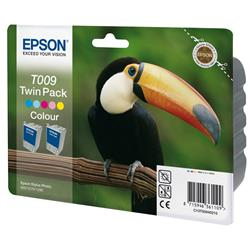 Epson T009 Ink Cartridge (5 Colour: Cyan/Light Cyan/Magenta /Light Magenta/Yellow/Black) for Stylus Photo 1270 Printer