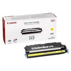Canon 717 (Yellow) Toner Cartridge (Yield 6,000 Pages)