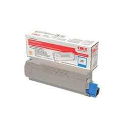 OKI 43324423 (Yield: 5,000 Pages) Cyan Toner Cartridge