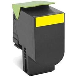 Lexmark 802HY High Yield (3000 Pages) Return Program Toner Cartridge (Yellow)