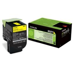 Lexmark Extra High Yield (4,000 pages) Corporate Cartridge (Yellow)