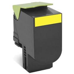 Lexmark 702HY (Yellow) High Yield Return Program Toner Cartridge (Yield 3000 Pages)