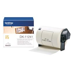 Brother DK Labels  DK-11241 (102mm x 152mm) Large Shipping Labels on a Roll (200 Labels)
