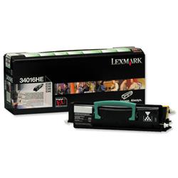Lexmark Black High Yield Return Program Toner Cartridge for E33X, E34X