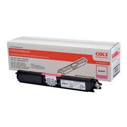 OKI Magenta Toner Cartridge (Yield 2,500 Pages) for C110/C130/MC160 Colour Printers