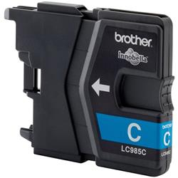 Brother LC985C Cyan (Yield 260 Pages) Inkjet Cartridge Blister Pack